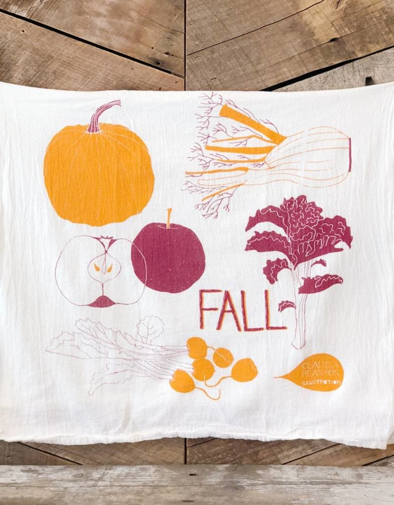 Fall Tea Towel