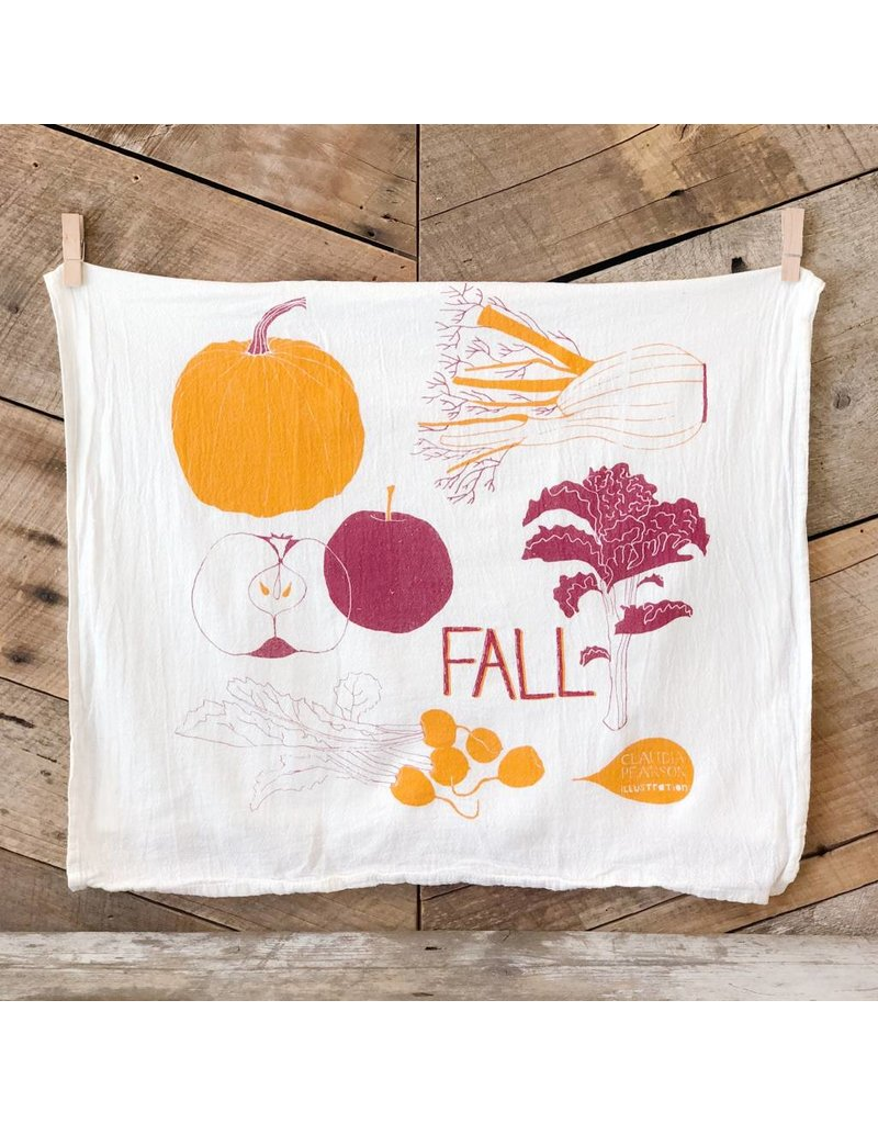 Fall Tea Towel