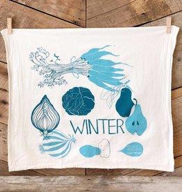 Winter Tea Towel