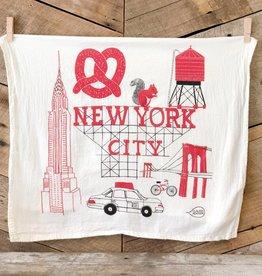New York City Tea Towel