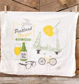 Portland Tea Towel