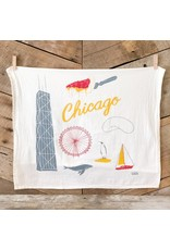 Chicago Tea Towel