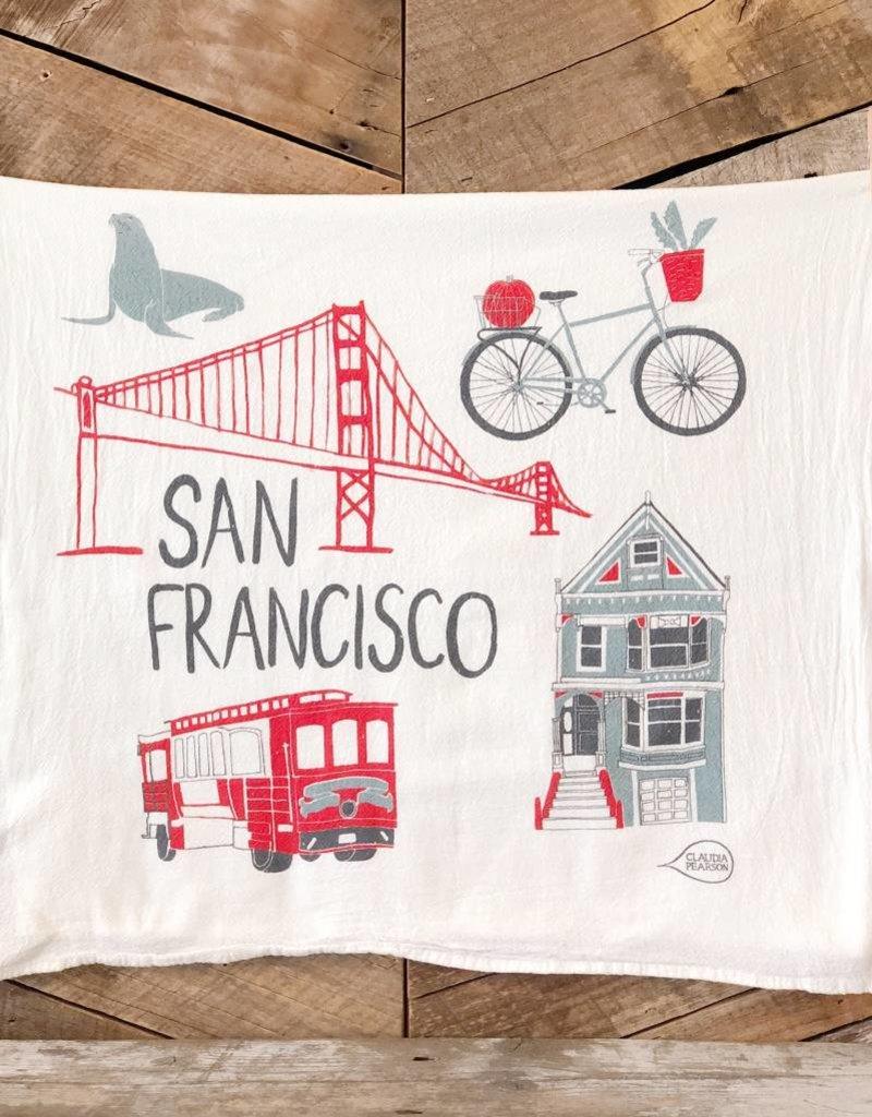 San Francisco Tea Towel