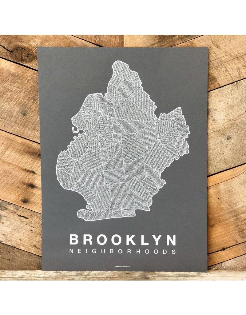 Brooklyn Neighborhood Map