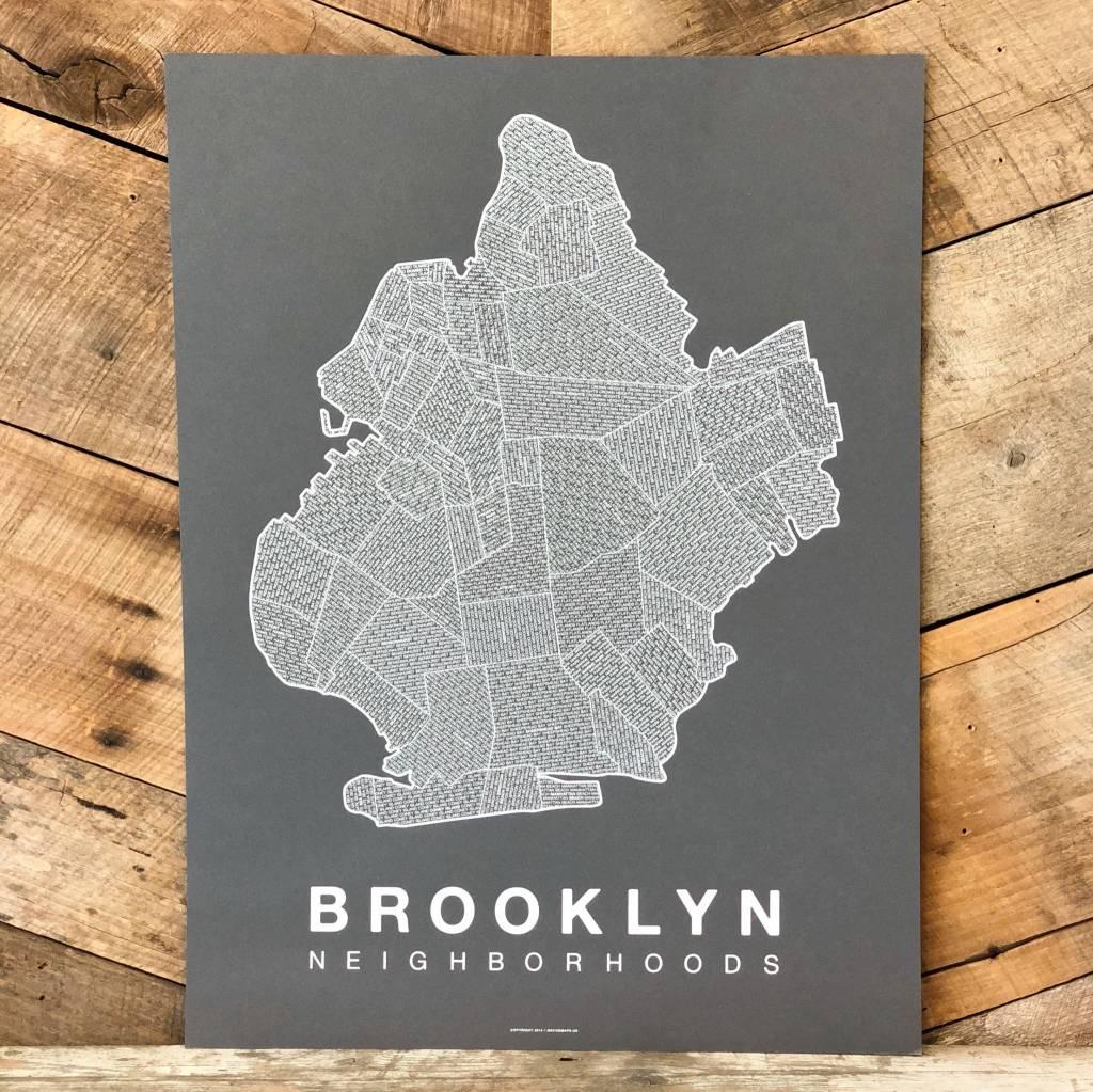 Brooklyn Neighborhood Map Hey Rooster General Store