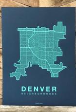 Denver Neighborhood Map
