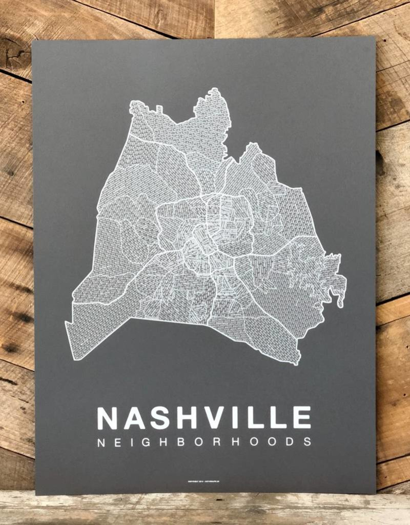 Nashville Neighborhood Map