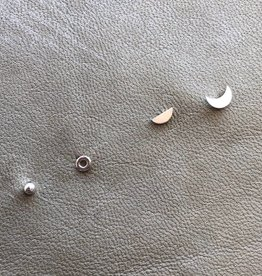 Moon Phase Studs