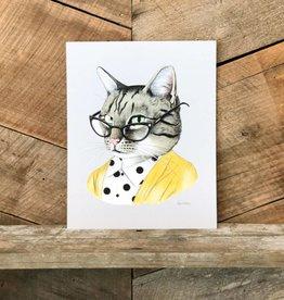 Tabby Cat Print
