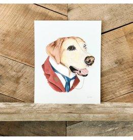 Labrador Print
