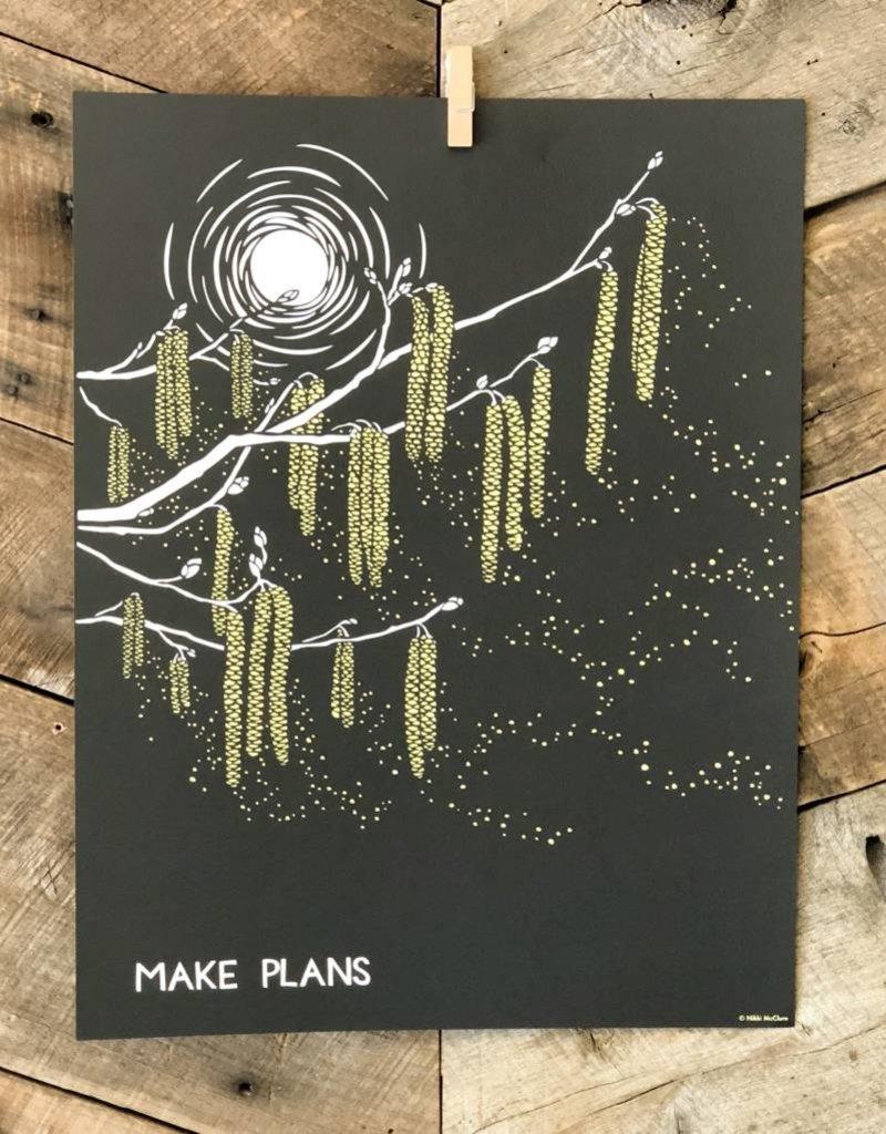 Make Plans Poster