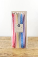 Tall Rainbow Party Candles