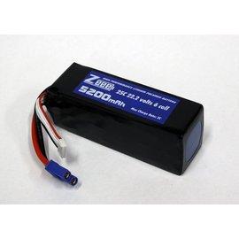 Zeee Power 22.2 V 5200 mAh LiPo Battery 25C