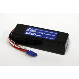 Zeee Power 22.2 V 5200 mAh LiPo Battery 75C