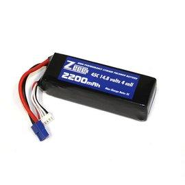 Zeee Power 14.8 V 2200 mAh LiPo Battery 45C