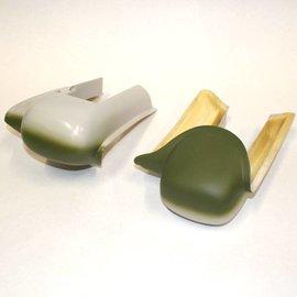 Skyshark P40N ARF Gear Pods: OD Green