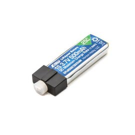 Eflite 500mAh 1S 3.7V 25C LiPo Battery: UMX Connector