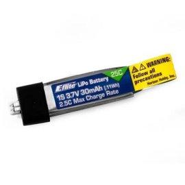 Eflite 30mAh 1S 3.7V 25C LiPo Battery