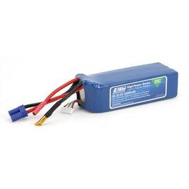 Eflite 5000mAh 6S 22.2V 30C LiPo Battery