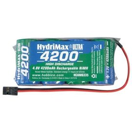 NIMH 4.8V 4200 FLAT RX Battery Pack U SUB C