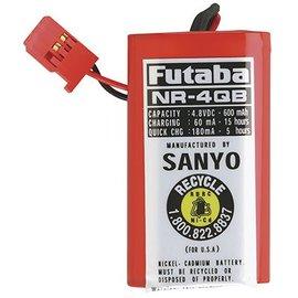 Futaba 600 mAh Ni-Cad RX Battery Pack 4.8V
