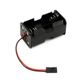 Battery Holder 4 AAA: Universal connector