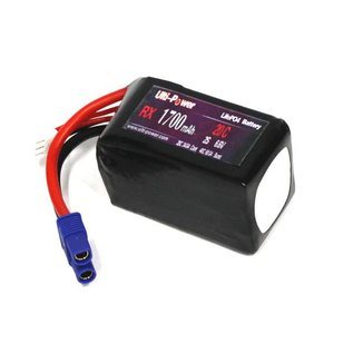 Ulti-Power 6.6 V 1700 mAh LiFe Battery RX