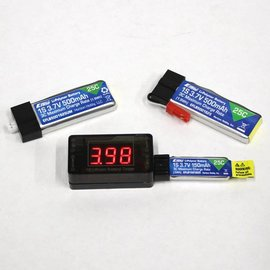 Skyshark 1S LiPo Battery Checker