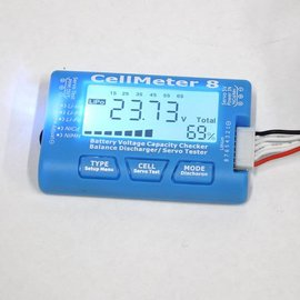 Cellmeter 8 Battery Checker & Servo Tester