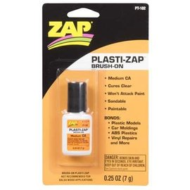 PLASTI-ZAP CA Brush-On 1/4 oz.