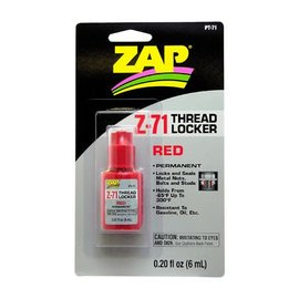 ZAP Z-71 Red Thread Locker .20 oz