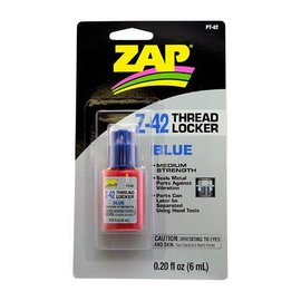 ZAP Z-42 Blue Thread Locker .20 oz