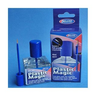 Deluxe Materials Plastic Magic Glue, 40ml