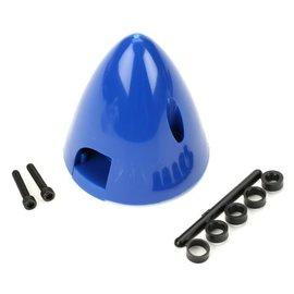"Dubro Spinner 2-blade plastic Blue 1-1/2"""