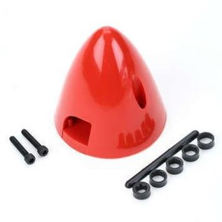 Dubro Spinner 2-blade plastic Red 2-3/4""