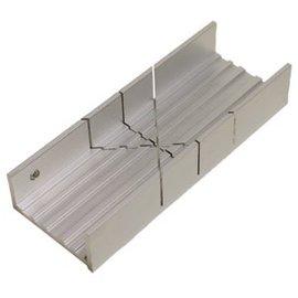 Miter Box Aluminum Wide Slot 35-260