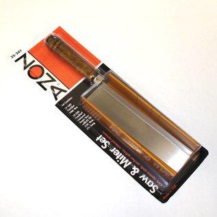 35-241 Miter Box (Thin Slot) & 35-550 42 TPI Razor Saw