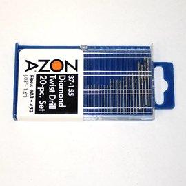 Mini Diamond Drill Set, 20 Pc. 37-155