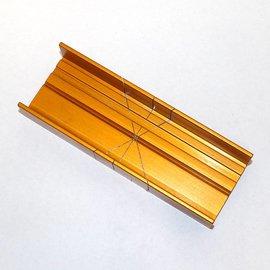 Miter Box Aluminum Thin Slot 37-240
