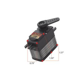 Hitec HS-7940TH High Voltage, High Speed, Titanium Gear Coreless Ultra Premium Digital Servo