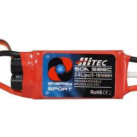 Hitec ESC 50 amp 2-6S w/BEC