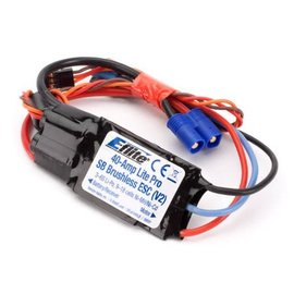 Eflite 40-Amp Lite Pro Switch-Mode BEC Brushless ESC (V2)