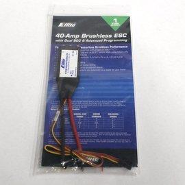 E-Flite 40 Amp Brushless ESC - Compact w/BEC