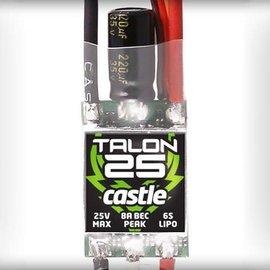 Castle Talon 25-Amp 25V ESC w/8-Amp BEC