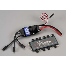 OS 30 amp 2-6s ESC W/Program Card