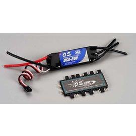 OS 40 amp ESC 2-6s W/Programming Card