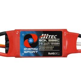 Hitec ESC 80 amp 2-6S w/BEC
