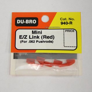 Dubro Mini E/Z Link, Red  0.62