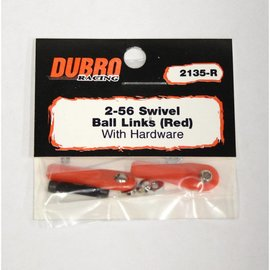 Dubro Swivel Ball Link RED
