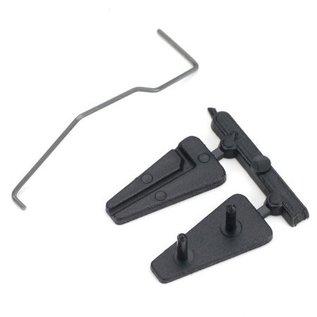 Dubro Tail Wheel Bracket Plastic Micro